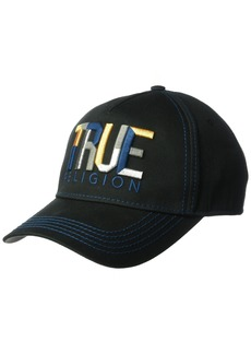 True Religion Men's Geo Name Baseball Cap  OSFA