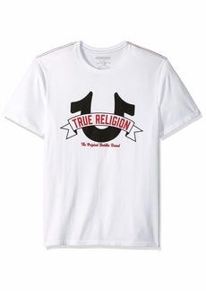 True Religion Men's Horseshoe Logo Tee  M