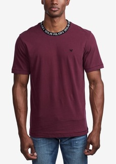 True Religion Men's Jacquard Rib T-Shirt