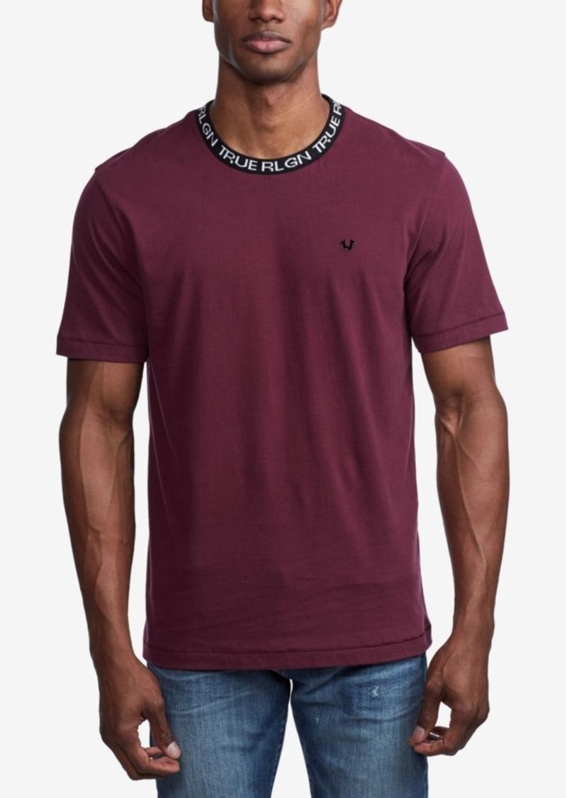 True Religion Men's Jacquard Rib T-Shirt