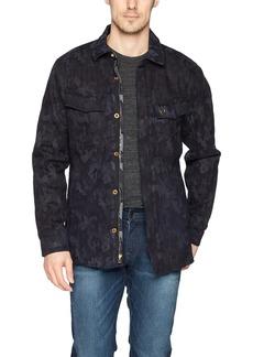 True Religion Men's Jaquard Print Field Jacket  XXXL