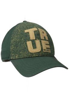 True Religion Men's Knit Front Baseball Cap