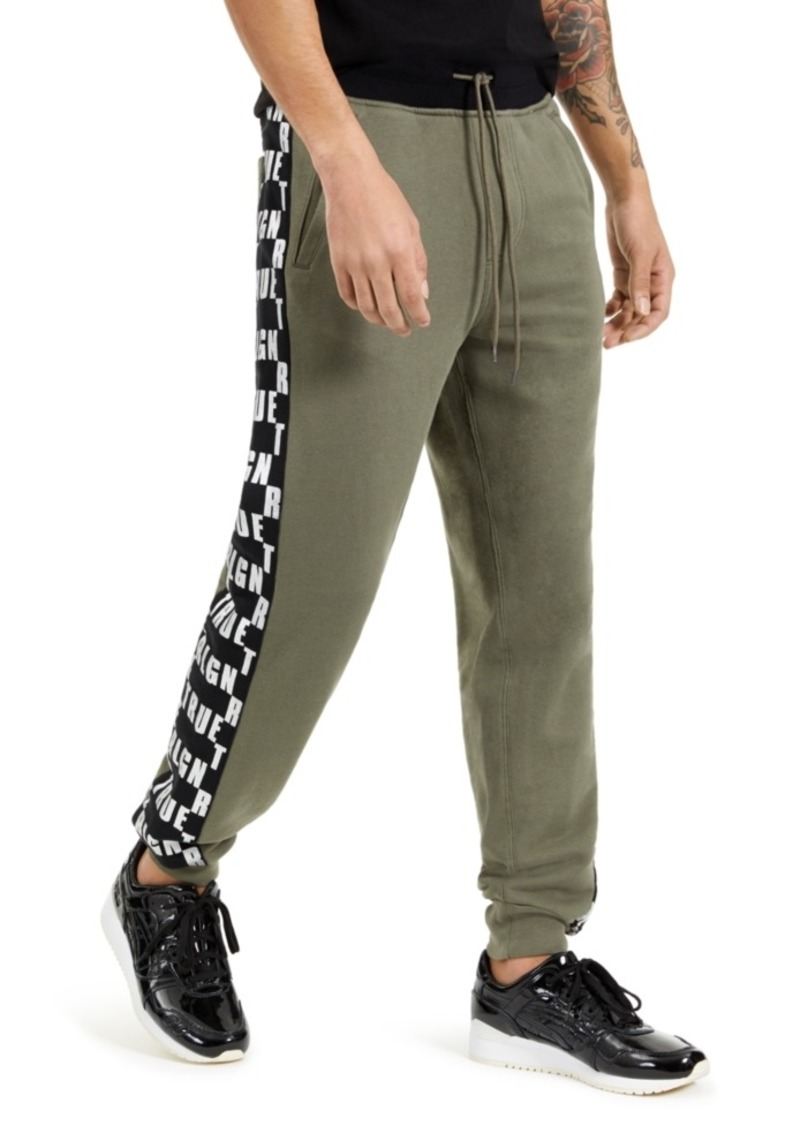 True Religion Men's Logo Jogger Pants