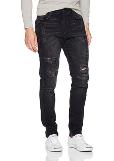 True Religion Men's Mick Racer Moto Jean