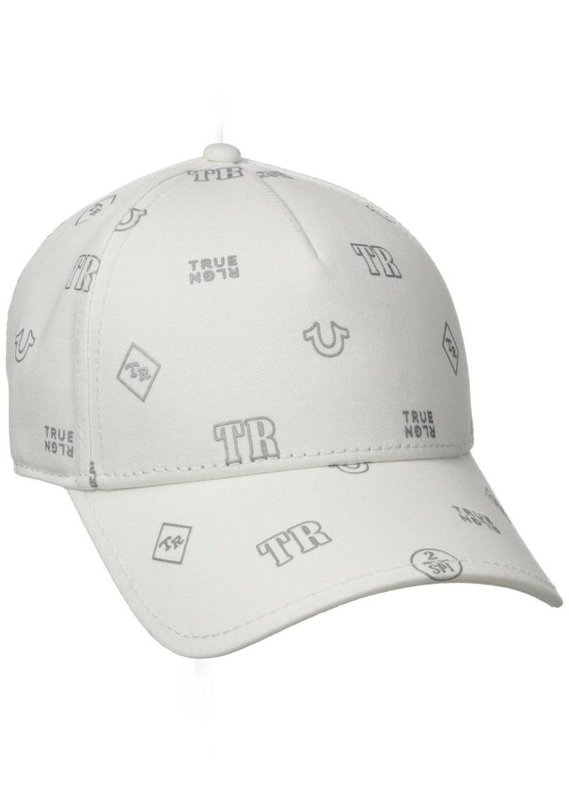 1015e8f592884 True Religion True Religion Men s Monogram Tpu Twill Baseball Cap ...