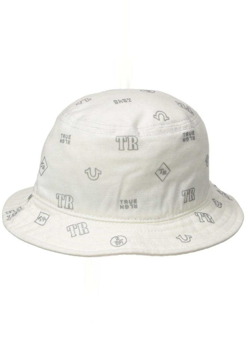 8fcab3179bbc3 True Religion True Religion Men s Monogram TPU Twill Bucket Hat L-XL ...