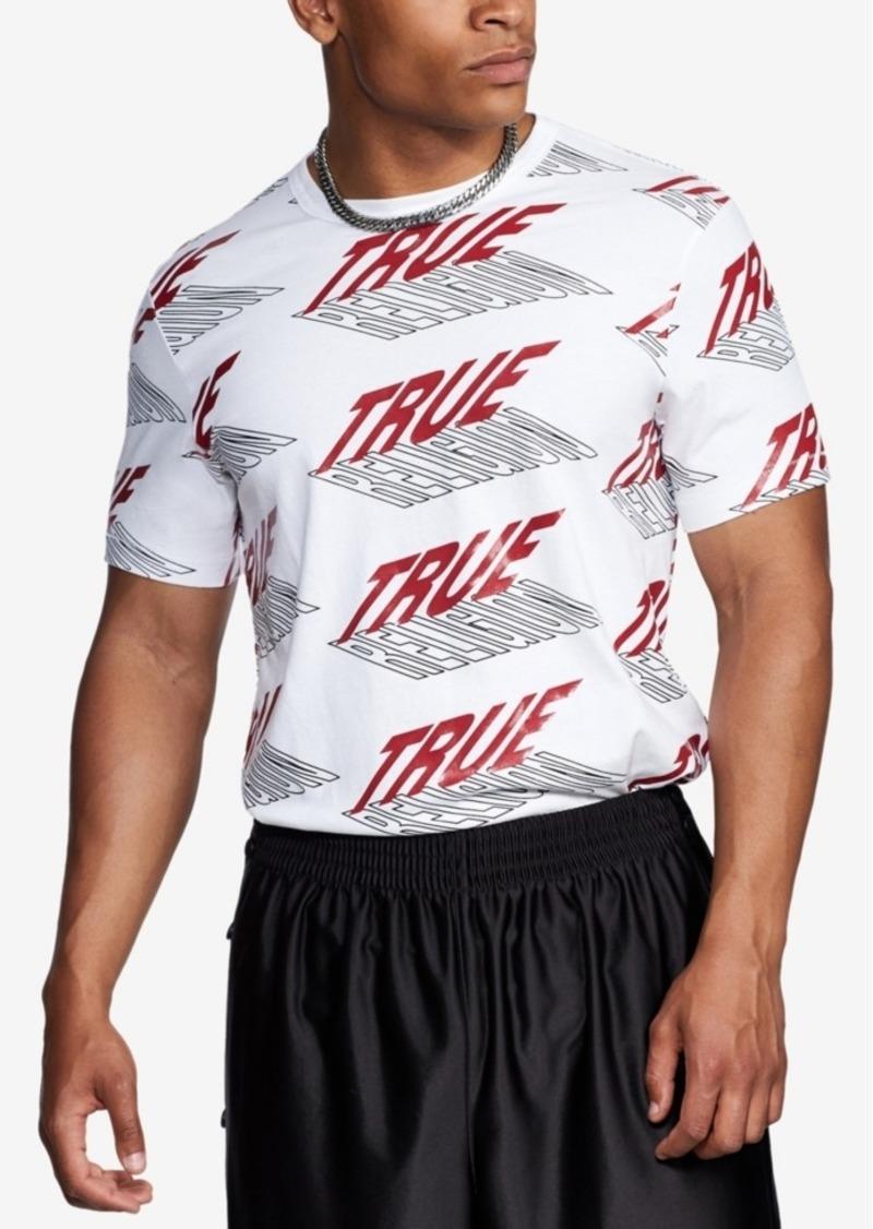 True Religion Men's New All Over Print T-Shirt