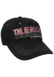 True Religion Men's Overdyed Baseball Cap