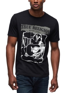 True Religion Men's Painted Buddha Graphic T-Shirt