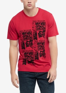 True Religion Men's Print Fashion T-Shirt