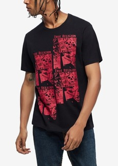 True Religion Men's Print Fashion T-Shirt