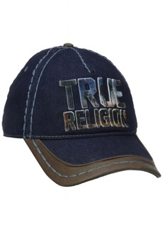 True Religion Men's Printed Embroidery Baseball Cap