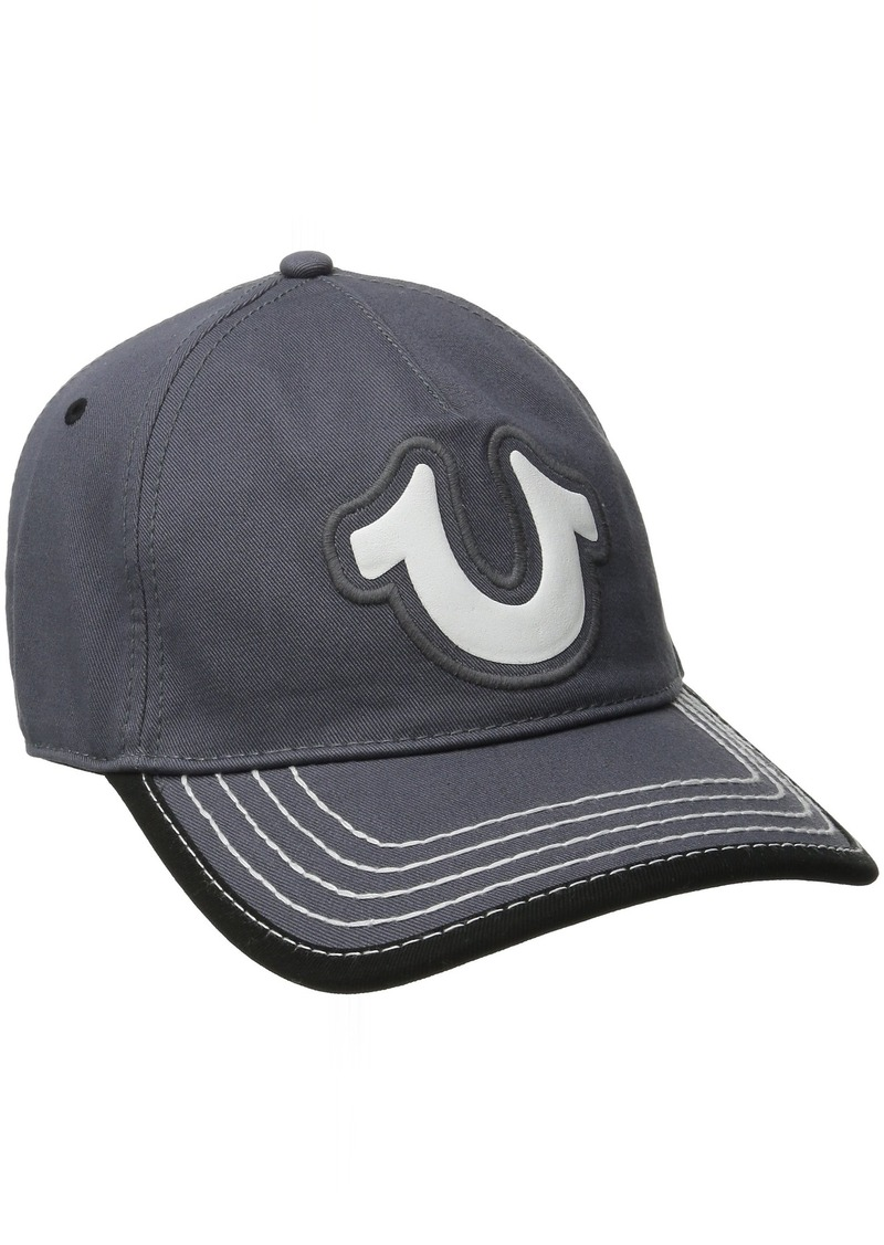 True Religion Men's Puff Shoe Baseball Cap