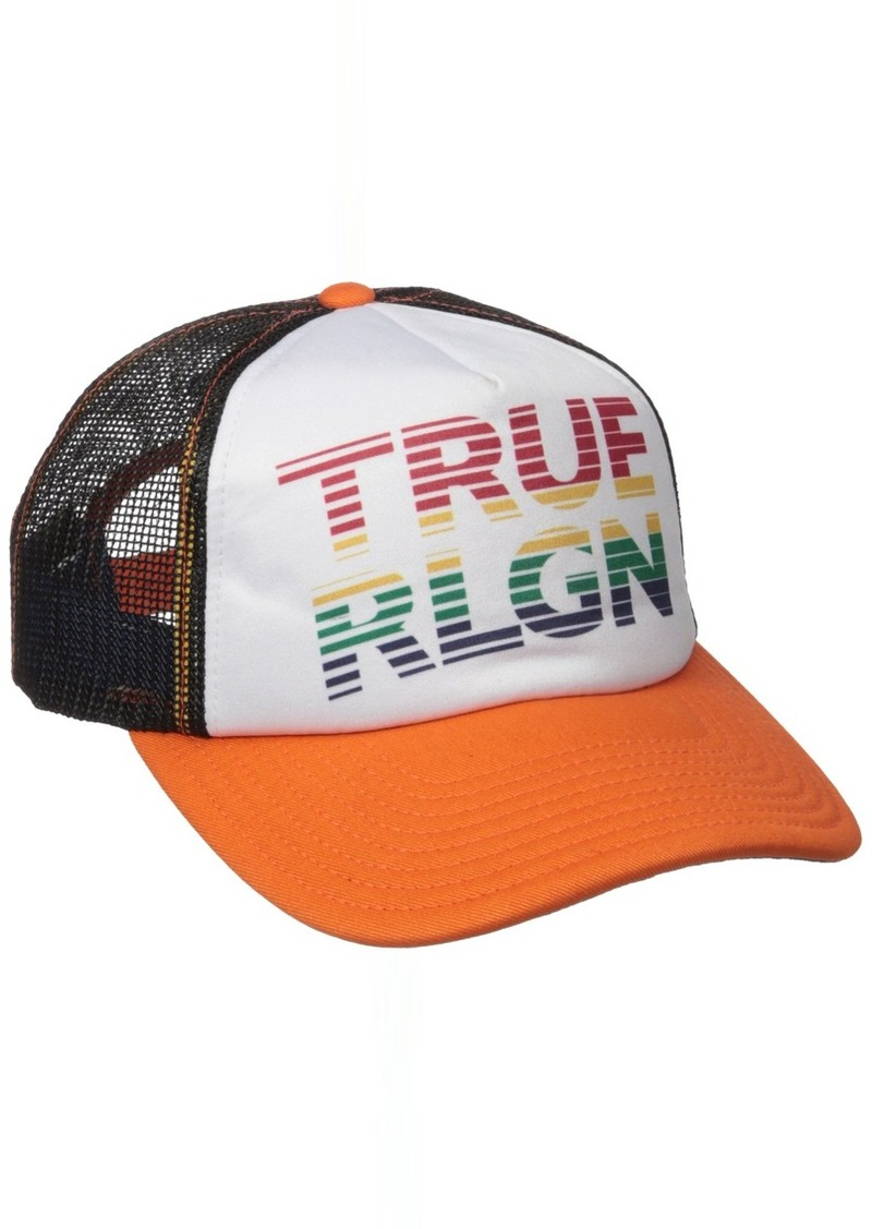 bf15d2654 Men's Rainbow Trucker Ball Cap