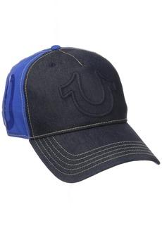 True Religion Men's Raised Horseshoe Baseball Cap
