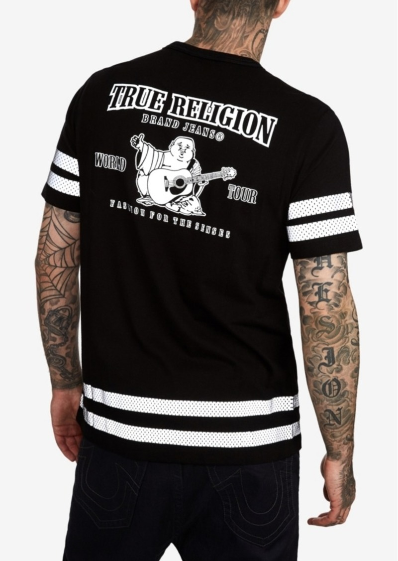True Religion Men's Reflective Buddha T-Shirt
