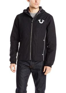 True Religion Men's Reflective Moto Jacket