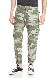 True Religion Men's Relaxed Modern Cargo Pant Camo Olive