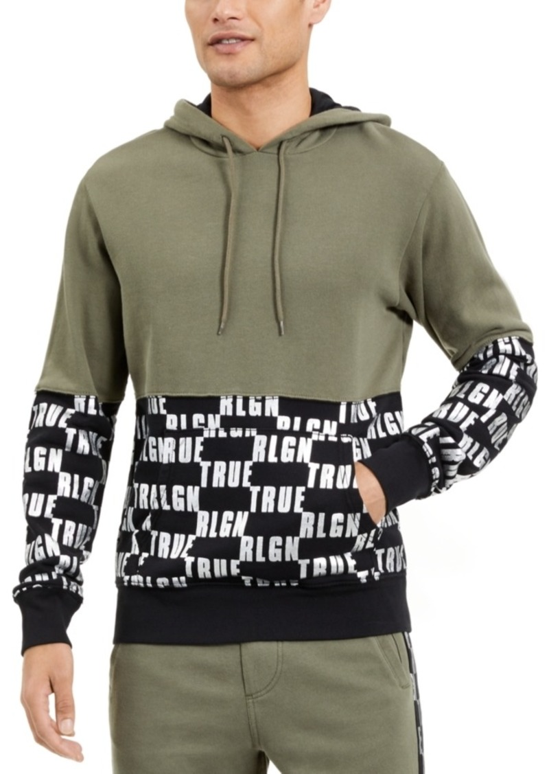 True Religion Men's Repeat Logo Hoodie