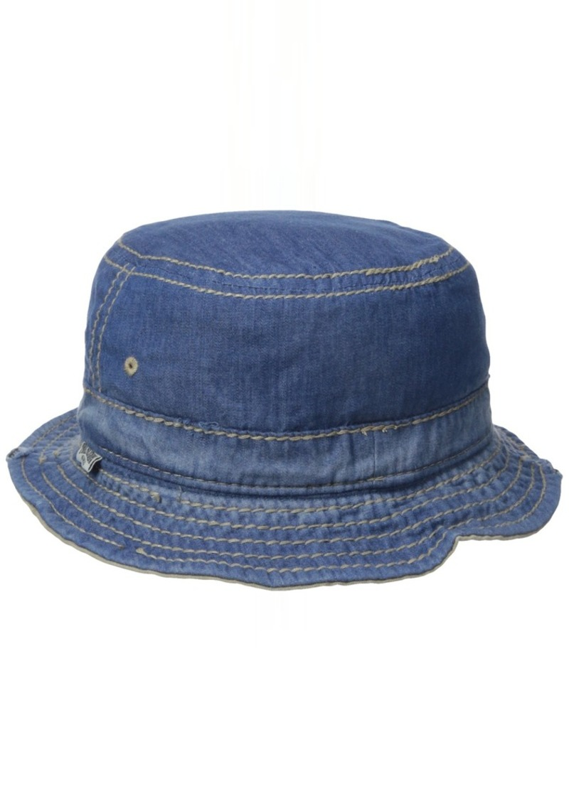 Men s Reversible Denim Bucket Hat b5b86eb9ae4