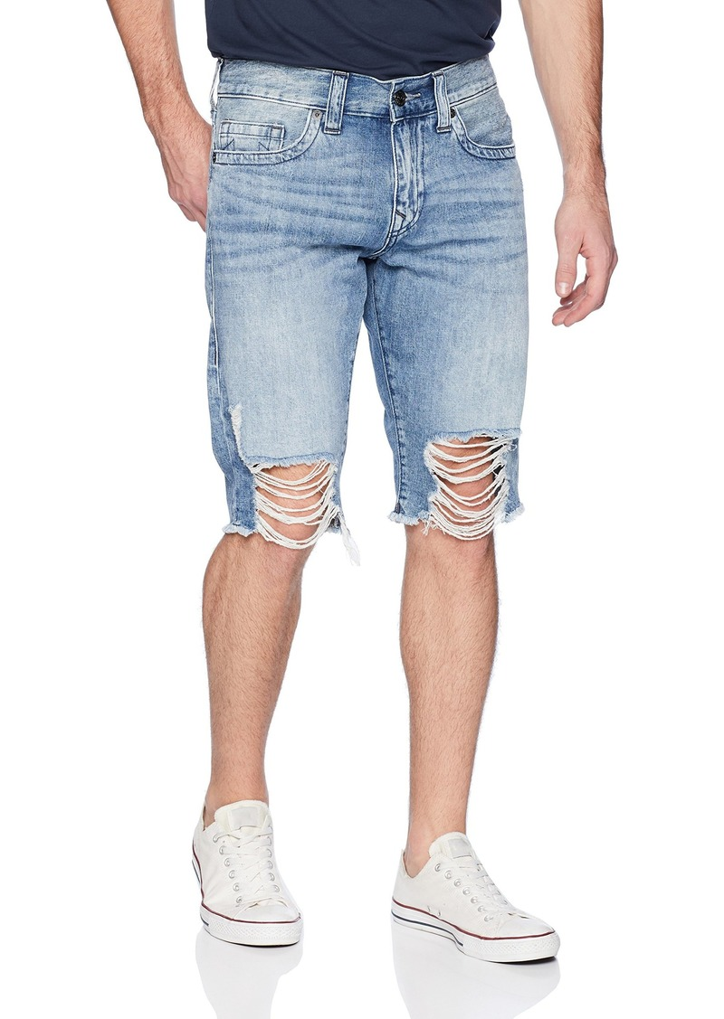 True Religion Men's Ricky no Flap Cut Off Short