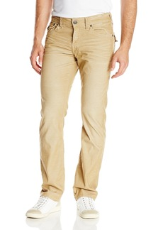 True Religion Men's Ricky Relaxed Straight Fit Corduroy Pant  40x34