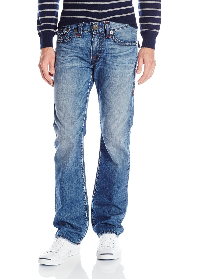 True Religion Men's Ricky with Flap Jean in