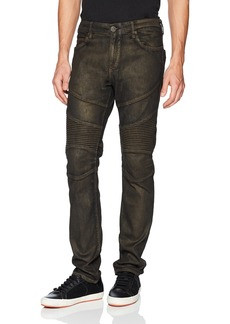 True Religion Men's Rocco Classic Moto Jean