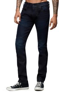 True Religion Men's Rocco Moto Skinny Jeans