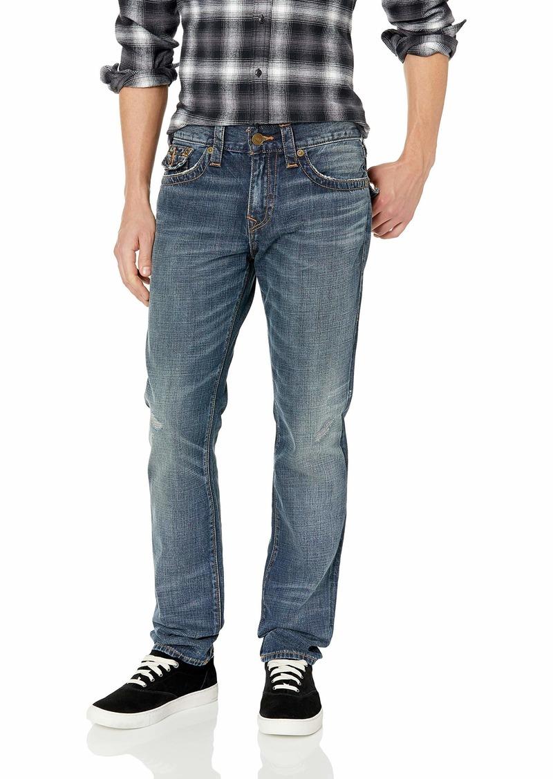 True Religion Men's Rocco Skinny Jean with Flap