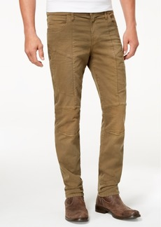 True Religion Men's Rococo Skinny Fit Stretch Moto Jeans