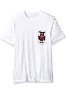 True Religion Men's Short Sleeve Metallic Teeth Tee1  L