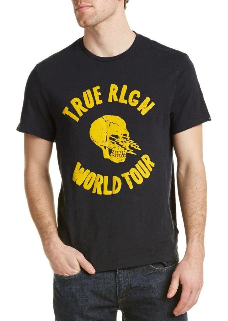 True Religion Men's Skull Lightning T-Shirt
