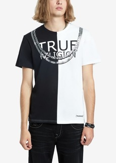 True Religion Men's Split Fashion T-Shirt