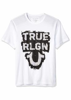 True Religion Men's SS TR TEE  S