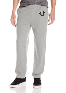 True Religion Men's Sweat Pants Grey Heather XXL