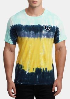 True Religion Men's Tie Dye Logo T-Shirt