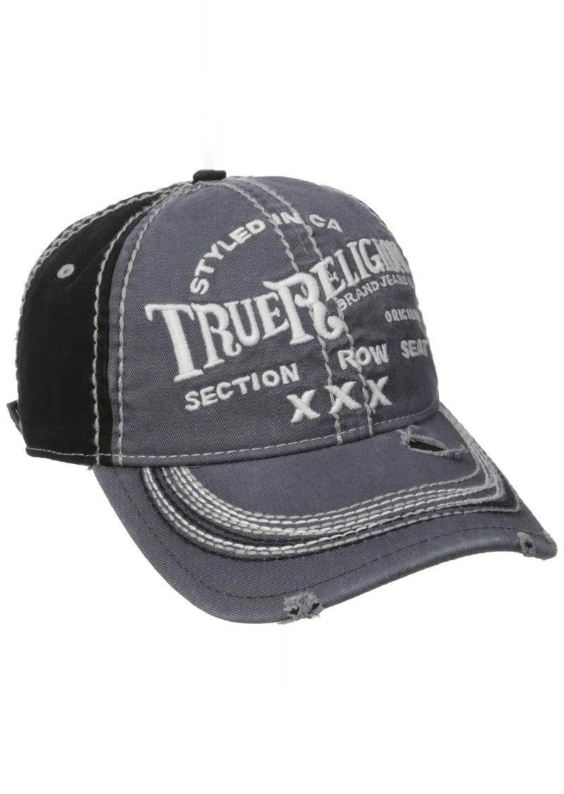 True Religion Men's Triple X Cap