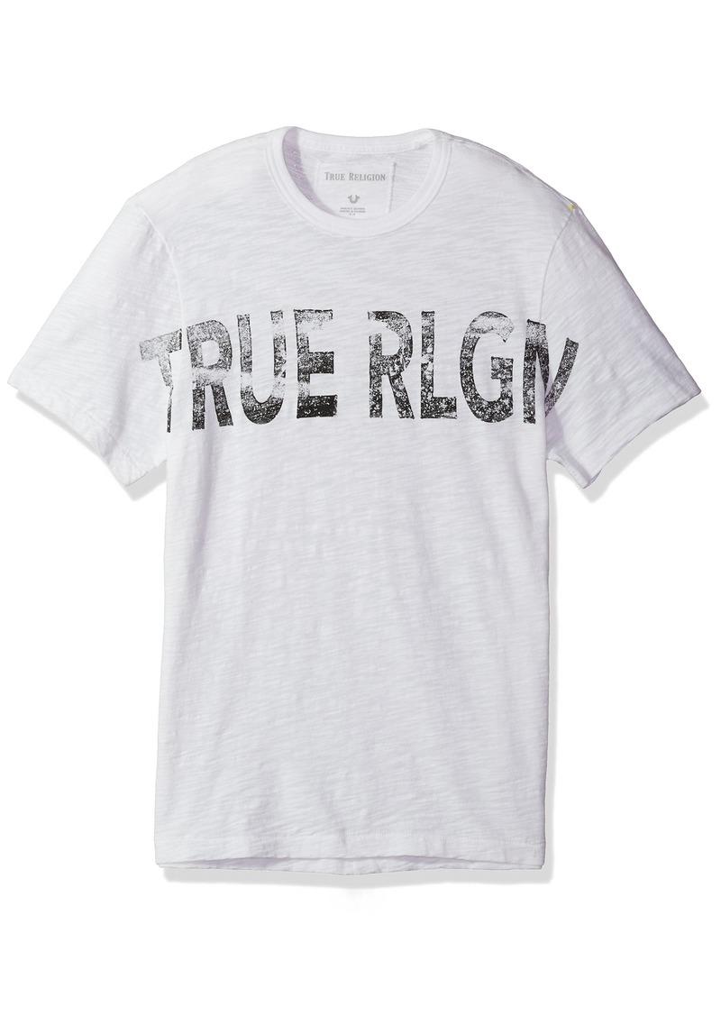True Religion Men's True Rlgn Graphic Logo Tee  L