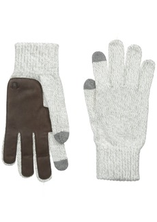 True Religion Men's Two Tone Knit Touchtek Gloves
