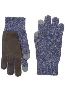 True Religion Men's Two Tone Knit Touchtek Gloves
