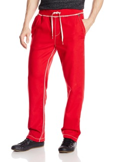 True Religion Men's Wide Leg Big T Stitch Sweatpants