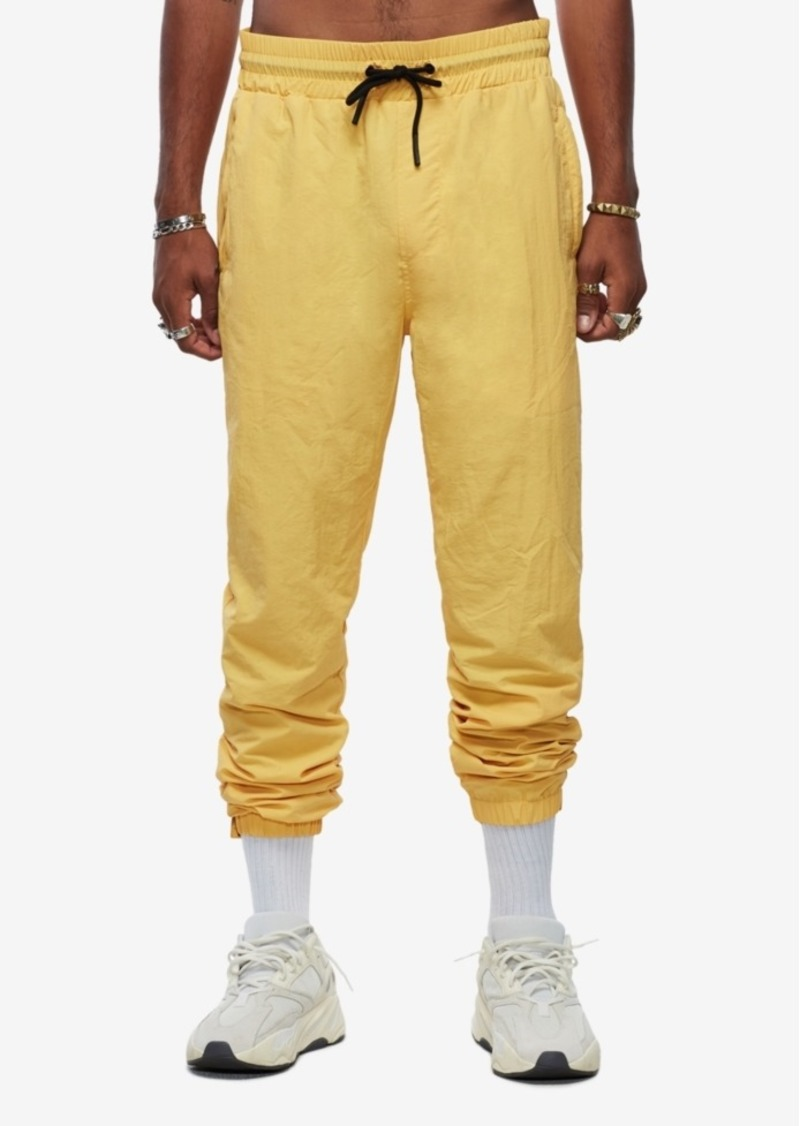 True Religion Men's Yellow Track Pant