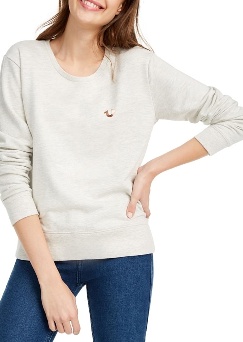 True Religion Metallic Graphic Sweatshirt