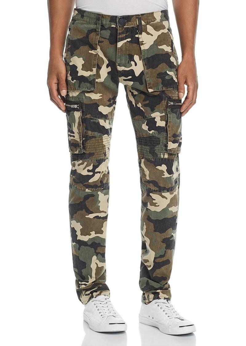 True Religion Nomad Camouflage-Print Regular Fit Cargo Pants