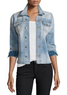 True Religion Nora Denim Shirt Jacket
