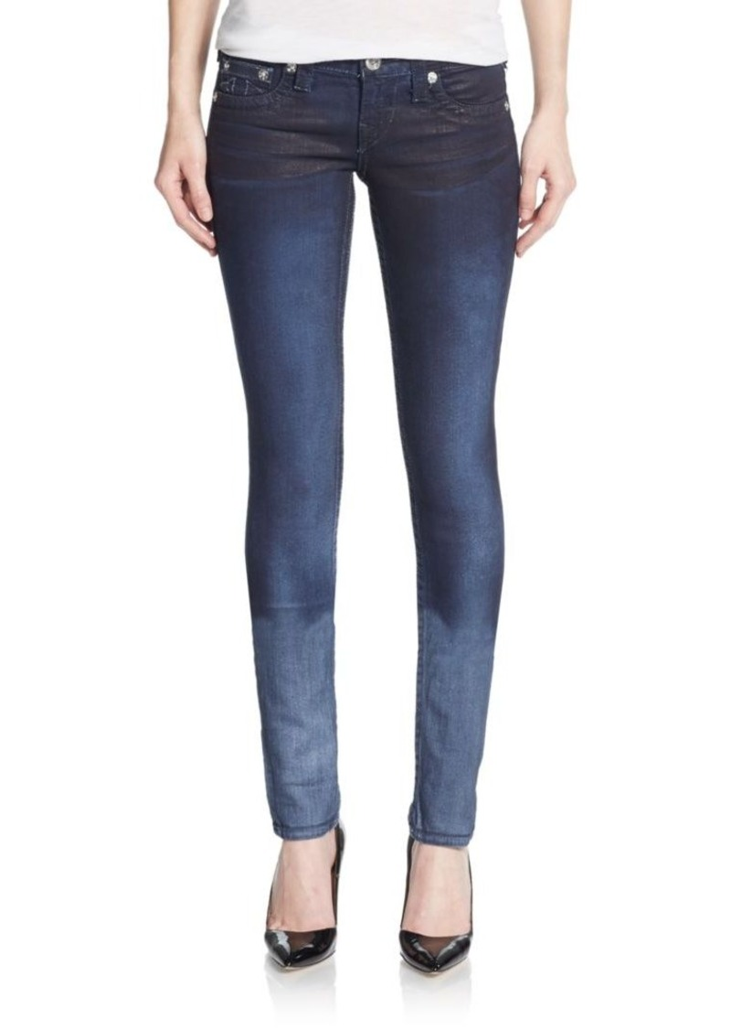 True Religion Ombre Skinny Jeans