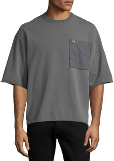 True Religion Oversized Pocket T-Shirt