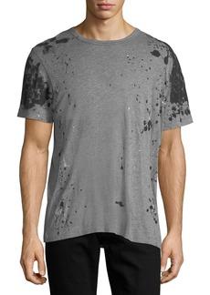 True Religion Paint-Splatter Cotton T-Shirt
