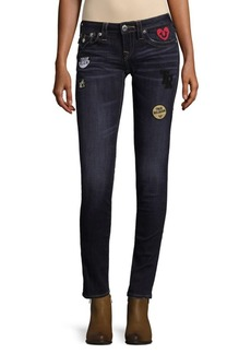 True Religion Patched Jeans